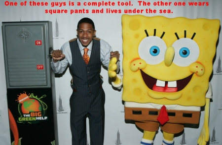 Nick Cannon SpongeBob copy